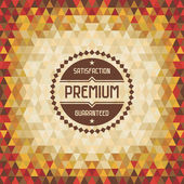 Geometric Vintage Background 04