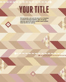 Vector geometric background & new concept infographic for design works