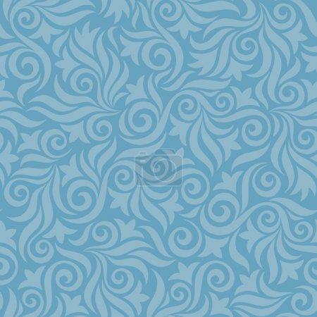 Illustration pour Fond de motif floral pour les matériaux de conception . - image libre de droit
