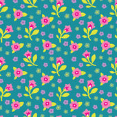 Floral Seamless Pattern 03