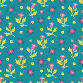 Floral seamless pattern background for design materials