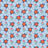 Floral Seamless Pattern 07