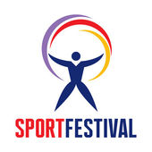Sport Festival - Logo in Classic Graphic Style