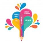 Infographic Concept - Creative Design - Pencil Ill...