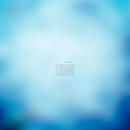 Photo for White and blue abstract background - Royalty Free Image