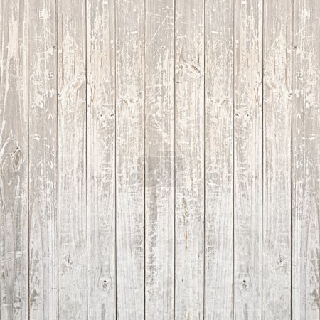 Old scratched light wood texture background