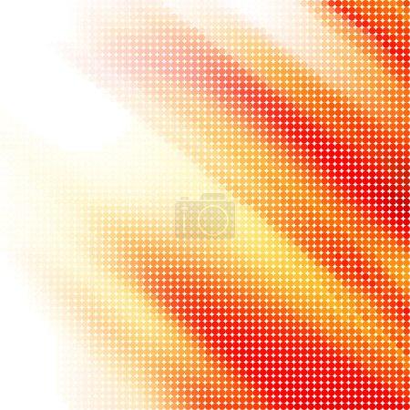 Illustration pour Abstrait avant demi-ton arrière-plan vecteur stock - image libre de droit