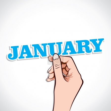 January Word In Hand