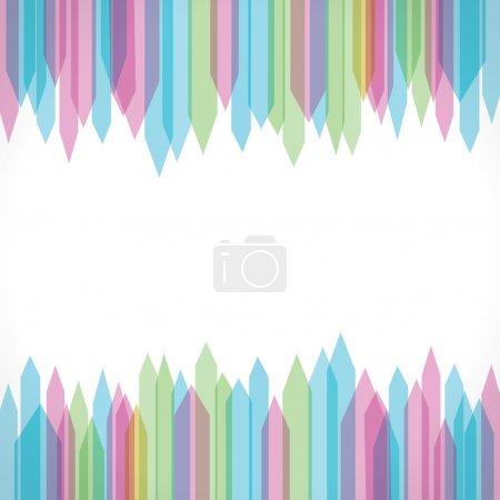 Sharp edge strip background