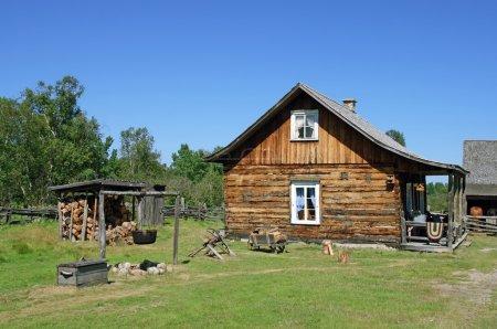 Casa rural tradicional canadiense