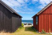 Fishing village on Fårö island, Sweden