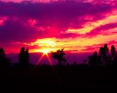 """Постер, картина, фотообои """"Evening sky"""""""