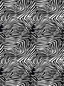 Zebra skin pattern vector illustration