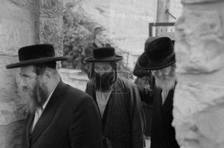Jerusalem, Jan. 2012 - Ultraorthodox jewish...