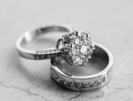 Photo for The engagement ring set. - Royalty Free Image