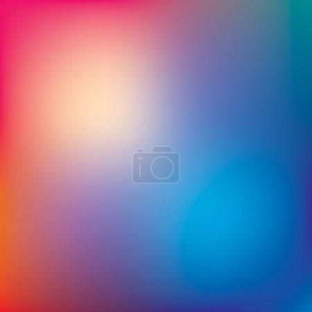 Illustration pour Fond vectoriel abstrait, dégradé de couleur - image libre de droit