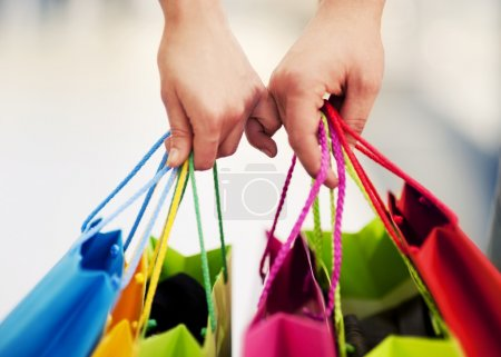 Photo pour Shopping ensemble - image libre de droit