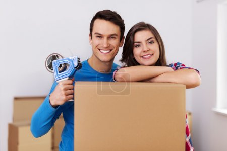 Photo for Ready to moving in new home - Royalty Free Image