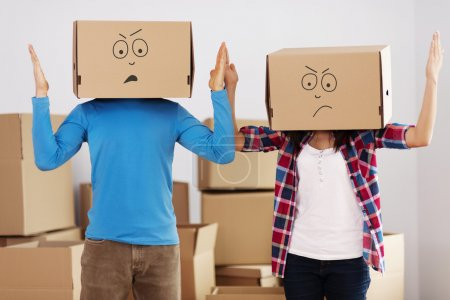 Photo for We hate unpacking! - Royalty Free Image