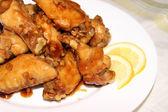 Chicken wings in honey