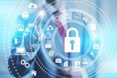 Internet security koncept