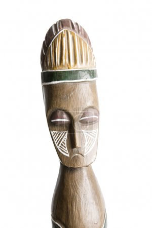 African Wooden Statue