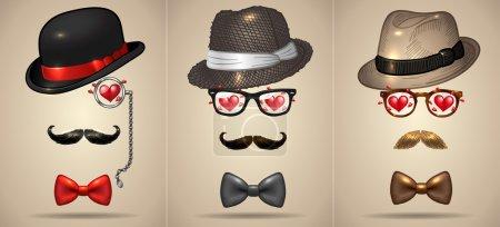Gentlemen in love set