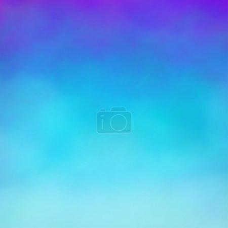 Illustration pour Abstrait bleu aquarelle fond - image libre de droit