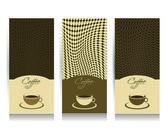 Coffe menu card Vector