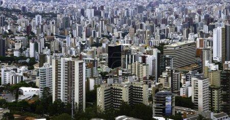 Foto de Vista panorámica de Belo Horizonte, Minas Gerais - Imagen libre de derechos