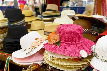 Colorido de muchos sombreros