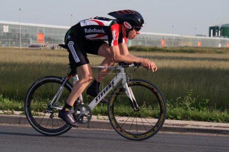 Fast cyclist.