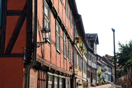 Half-timbered houses in Quedlinburg