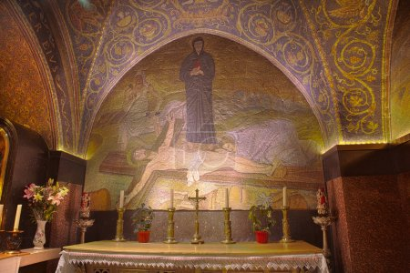 Crucifixion Mosaic - Church of the Holy Sepulchre