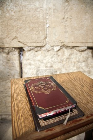 Book of Psalms at Wailing Wall