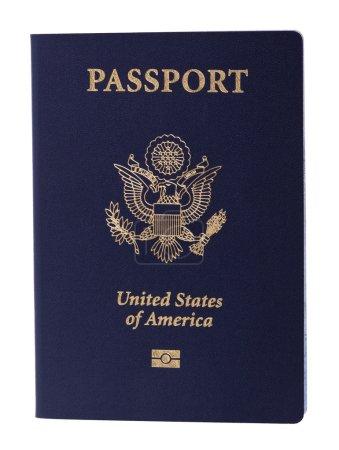 Isolated American Passport