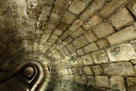 Tunnel Templier à Acco