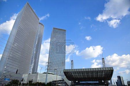 Skyscrapers & Train Station