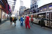 Elmo and Cookie Monster on 42nd Street Manhattan New-York