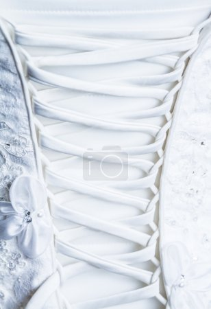 Back Laces of the Bride Wedding dress