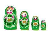 Matryoshka doll in vector Russian nested doll Babushka doll Russian Souvenir