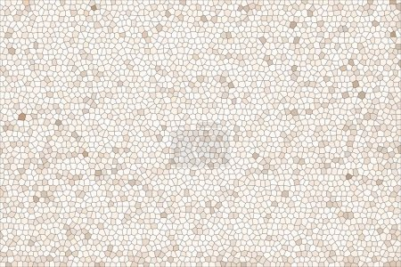 abstract pale beige mosaic texture