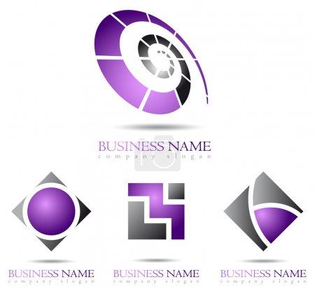 Business logo spiral design