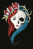 Dívka s tváří života a smrti