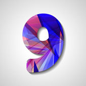 Abstract  number collection - 9