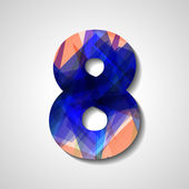 Abstract  number collection - 8