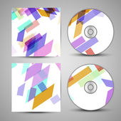 Vector cd cover  set for your design