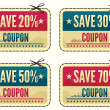 Coupon sale collection...