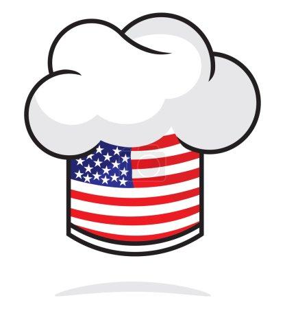 USA chef hat