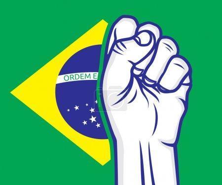 Brazil fist